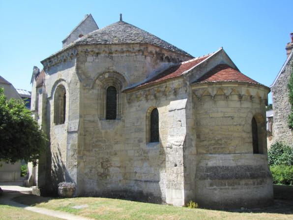 vue de la chapelle depuis le sud ©Pole archeologique du département de l'aisne_fouille 2015