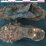 mobilier issu du diagnostic-chaussures©pole archéologique/CD02