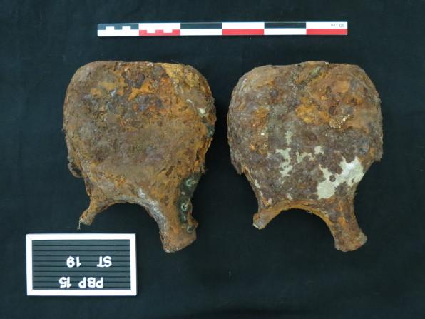 mobilier issu du diagnostic-gourde©pole archéologique/CD02