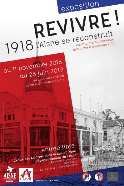 affiche Archives expo 1918